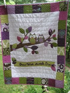 Love this Owl Quilt.