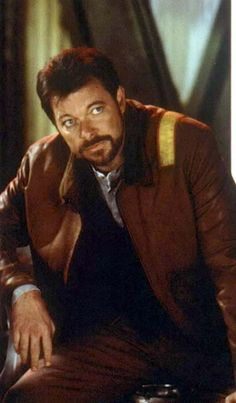 William T Riker - First Contact, 1996. Such a nice looking man.