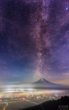 天の川 (Milky Way) 場所 : 高座山 (15/7/26 12:41AM)