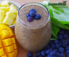 Blueberries are a great source of antioxidants while pineapples have anti-inflammatory properties and help with digestion. Blend them together with organic baby spinach and you've got a deliciously fruity, super healthy green smoothie! If blueberries aren't in season or you can't find frozen, you can make this recipe with strawberries. Raspberries and pineapple might not …