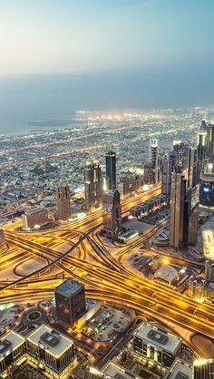 Dubai from the sky