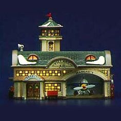 "Department 56: Products - ""Airport"" - View Lighted Buildings"