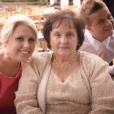 Bailey Hutson & grandma Patsy. Photo bombed by Bradley Chambers