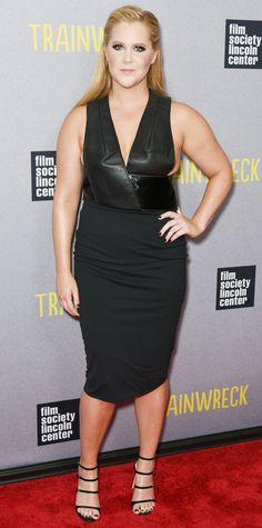 Amy Schumer in Dion Lee, 2015