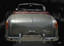 Hier ein kleiner Einblick in das Cabriolet mit der Heckansicht eines Alvis Graber 3 Litre TC108/G.