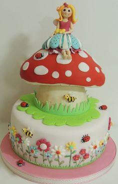 Fairy Birthday Cake | Fairy toadstool cake — Birthday Cakes