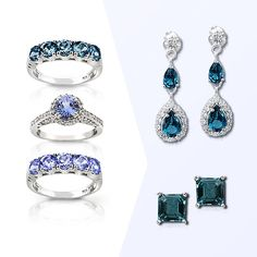 Take a look at the Aglow in London Blue Topaz & Tanzanite event on zulily today!