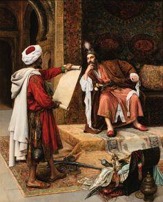 Islamic Paintings, Old Paintings, Kerala Mural Painting, Arabian Art, Historical Art, Arabian Nights, Ancient Art, Islamic Art, Art And Architecture