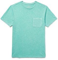 J.CREW Slim-Fit Garment-Dyed Slub Cotton-Jersey T-Shirt