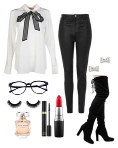 """""""Jade Thirlwall inspired"""" by ilikewarmhugsolaf ❤ liked on Polyvore featuring moda, STELLA McCARTNEY, Topshop, Marc by Marc Jacobs, MAC Cosmetics, Elie Saab, women's clothing, women, female ve woman"""