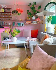 Living Room Designs, Living Room Decor, Interior Styling, Interior Design, Kawaii Room, Dream Decor, Girl Room, Furniture Decor, Pastel
