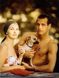 Famous people (Paul Newman) + Dogs