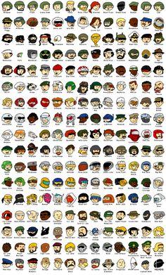G.I. Joe Heads - Fan Art