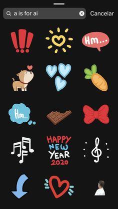 Instagram Blog, Instagram Emoji, Instagram Editing Apps, Creative Instagram Stories, Instagram And Snapchat, Instagram Story Ideas, Gifs, Feed Insta, Snapchat Stickers