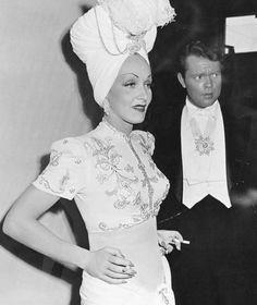 Marlene Dietrich and Orson Welles, Follow the Boys, 1944.