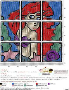 Little Mermaid Puzzle