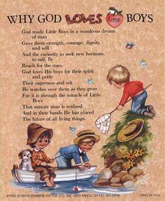 Why God Loves Little Boys by J. B. Grant