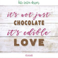 Chocolate svg | Funny Quote svg | Tshirt svg | SVG File Sayings | Cutting Files…
