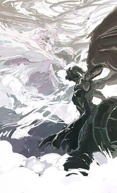 Pokemon Black White by ouroporos on deviantART