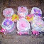 diaper cupcake - no frills