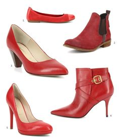 San Marina chaussures rouges