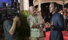 Alex O'Loughlin looking handsome on the #H50 #SOTB red carpet!