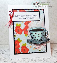 Stamp of the Week – Our Talks!! I LOVE IT!!! – Unity Stamp Co   Unity Stamp Co