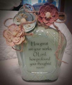 My crown-royal bottle