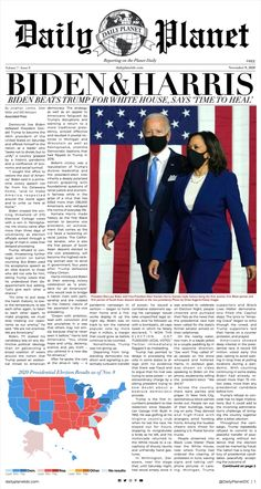 Biden and Harris have made history with their projected 2020 Presidential win. Read all about it.