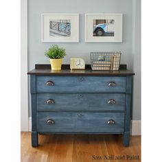 Thrift Store Makeovers in Blue - The Cottage Market