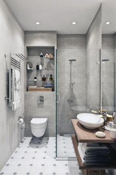 Bathroom Design Luxury, Bathroom Tile Designs, Bathroom Layout, Modern Bathroom Design, Simple Bathroom, Hall Bathroom, Bathroom Ideas, Bathroom Storage, Bathroom Ceilings