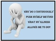 Easy answer: I want to live just like everyone around me does. #chronicfatigueawareness