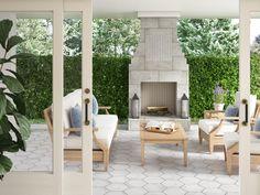 Arina Bianco Matte Porcelain Tile - 11 x 13 - 100604701 Patio Tiles, Outdoor Tiles, Outdoor Decor, Indoor Outdoor, Stone Tile Flooring, Outdoor Flooring, Stone Look Tile, House Tiles, Marble Mosaic