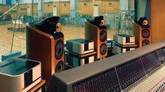 Bowers & Wilkins 800 Diamond speakers at Abbey Road Studios