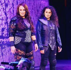 Tamina Snuka, Nia Jax, All In The Family, Wwe, Wrestling, Lady, Style, Fashion, Lucha Libre