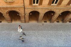 Urbino's architecture is simply beautiful... #urbino #marche #italy http://fibrediluce.blogspot.it/2012/08/valentina-giancarlo-28-aprile-2012.html