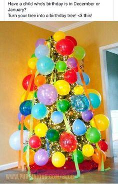 December kid birthday idea!!