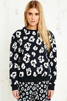 House of Hackney Sweater in Leopard Print at Urban Outfitters