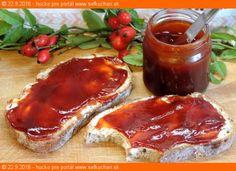 Šípkový lekvár Czech Recipes, Meatloaf, Ale, French Toast, Homemade, Canning, Breakfast, Food, Syrup
