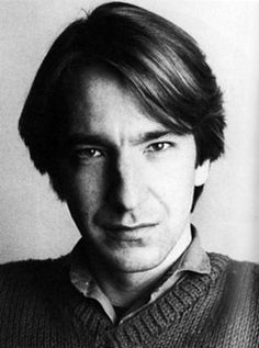 """1984 - Alan Rickman - professional photo from the """"Hulton Archive."""""""