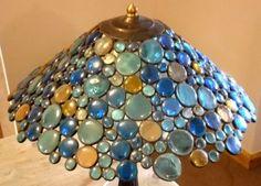 Glass Pebble Lampshade