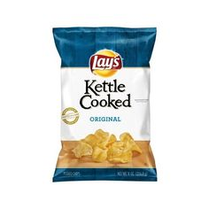 Lay's Kettle Cooked Original Potato Chips 8 oz. Bag ❤ liked on Polyvore featuring home, kitchen & dining, kitchen gadgets & tools and food
