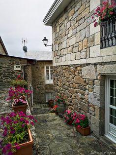 Stone Cottages, Madrid Barcelona, Spain Travel, European Travel, Far Away, Paths, Places To Visit, Sidewalk, Design