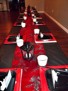 Japanese table set