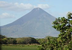 Momotombo is a stratovolcano in Nicaragua, not far from the city of León. It stands on the shores of Lago de Managua.