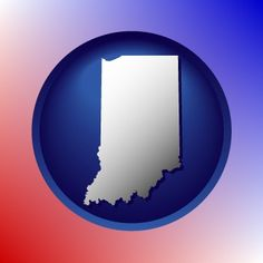 State of Indiana map icon.