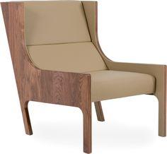 Bergere Chair by Seyhan Özdemir & Sefer Çaglar for De La Espada. American white oak or black walnut, upholstery.