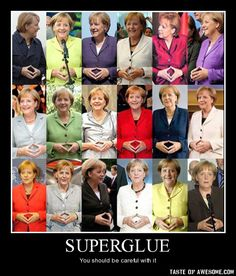 LOL!! Superglue...