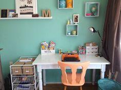 house, room, idea, computer, desk, table, shelf