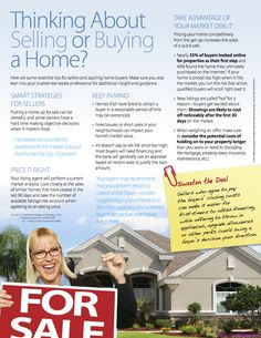 Thinking About Selling or Buying a Home? - #RealEstate #Weston #Florida